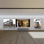 ROM virtual 3D exhibition
