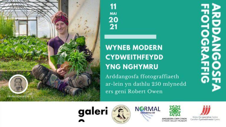 Arddangosfa ffotograffau (Cymraeg) - Wyneb Modern Cwmnïau Cydweithredol yng Nghymru