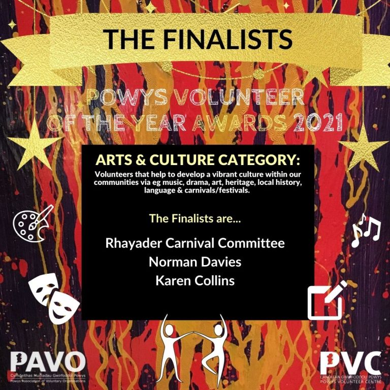 PAVO award 2021 - arts and culture finalists